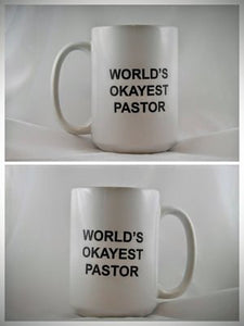 World's Okayest Pastor - Drinklings