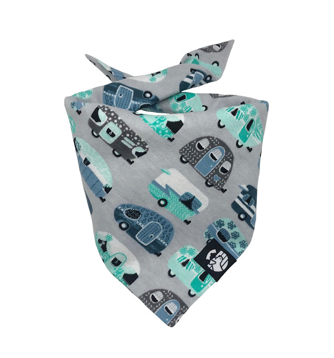 Happy Camper Bandana (Snuggle Fabric)