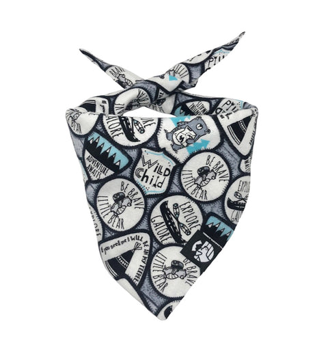 Adventure Dog Bandana (Snuggle Fabric)