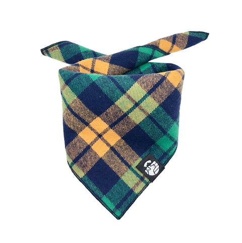 Bright Plaid Bandana