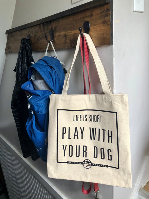 Life is Short Tote