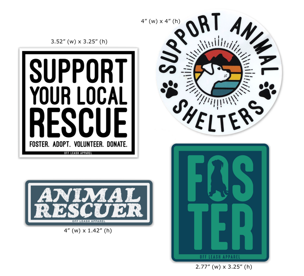 Rescue Sticker Pack