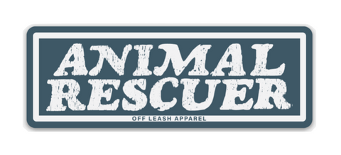 Animal Rescuer Sticker