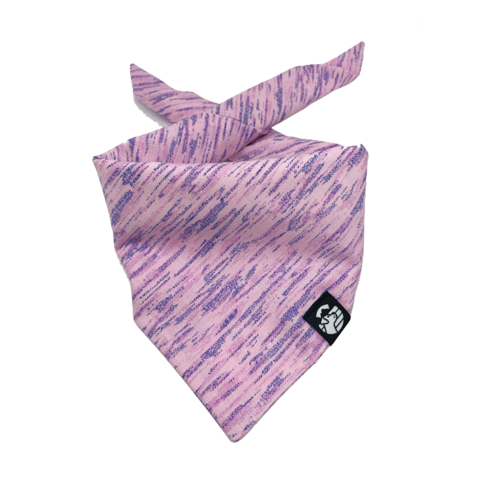 Abstract Pink Bandana