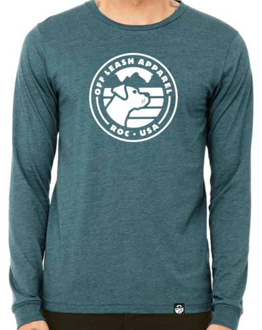 Heather Teal Long Sleeve