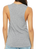 Grey Colored Logo Tank Top