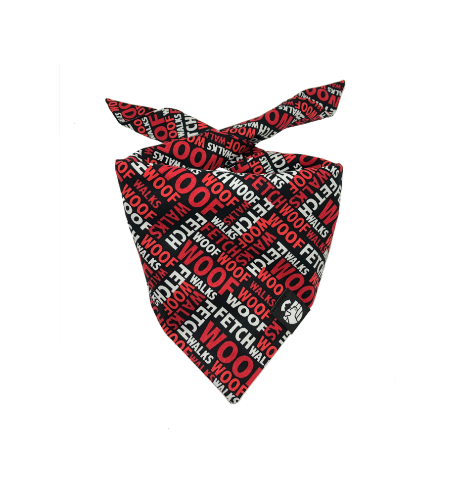 Dogs Favorite Words Bandana