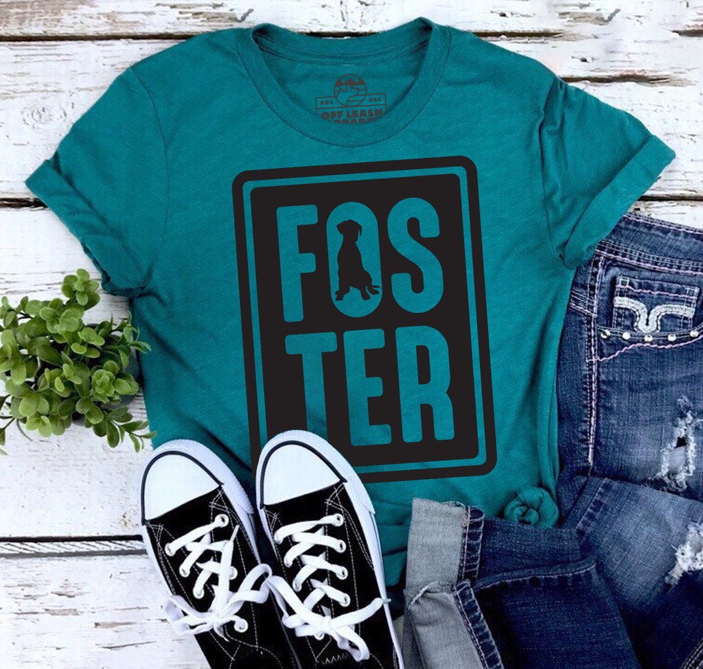 Foster Tee (Teal)