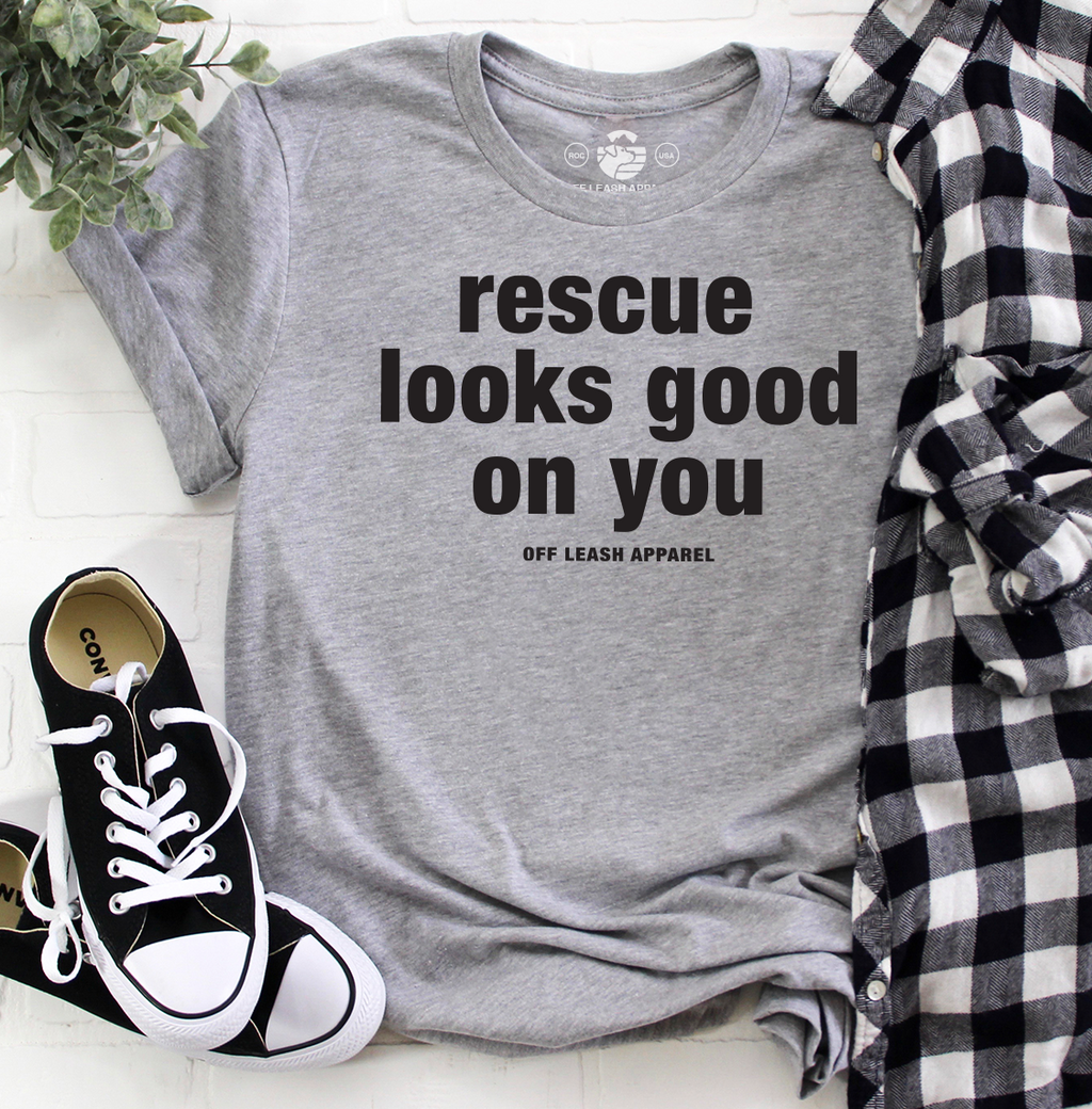 Rescue Looks Good On You Tee