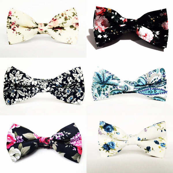 The Players Club 6 pack Mens Bow Tie set