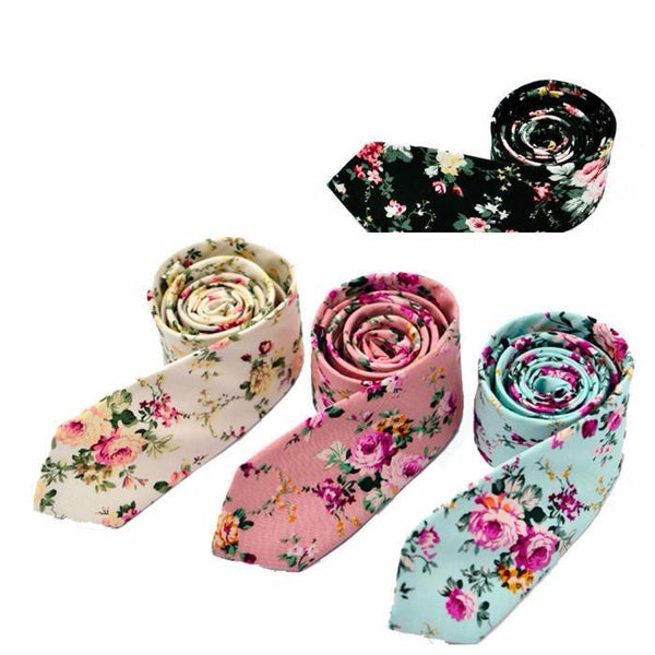 New PinnyJon Floral Neckties