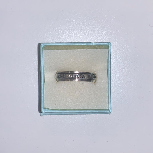 Spinner Ring 3 - Size 9