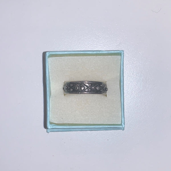 Copy of Sterling Silver Band Ring Size 9