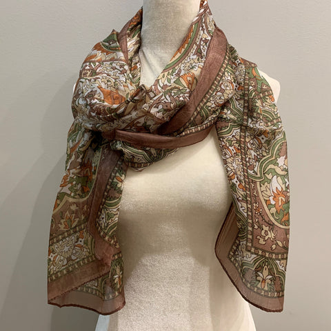 Channing Silk Scarf