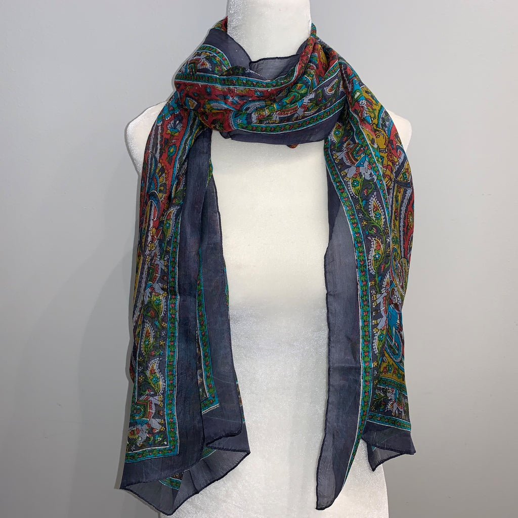 Duffy Silk Scarf