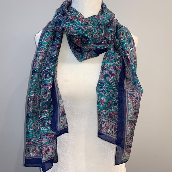 Greer Silk Scarf