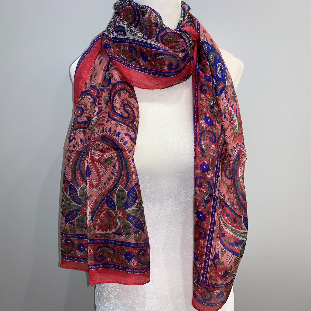 Kennedy Silk Scarf