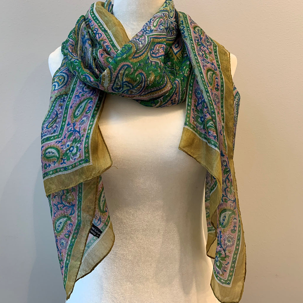 Kingsley Silk Scarf