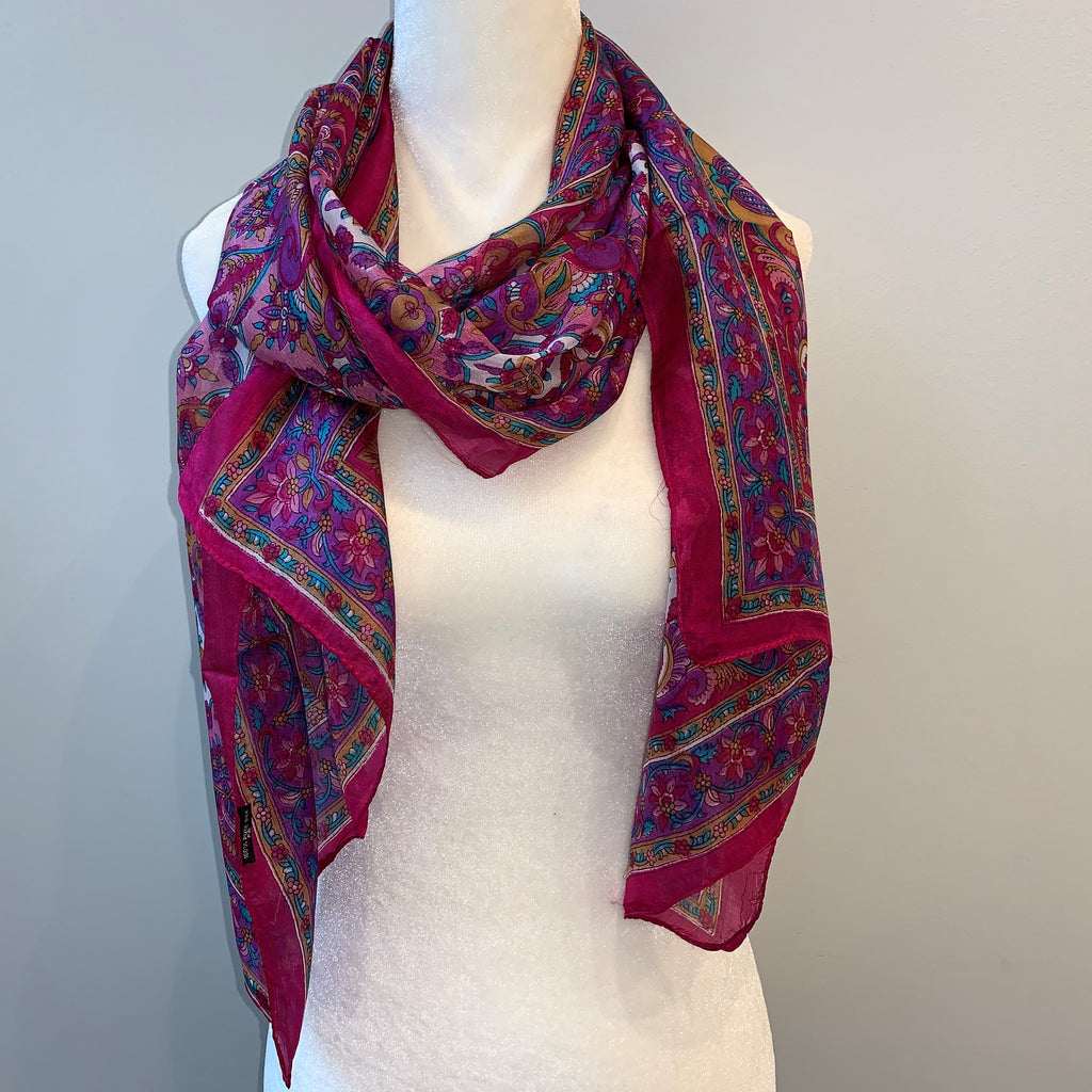 Owen Silk Scarf
