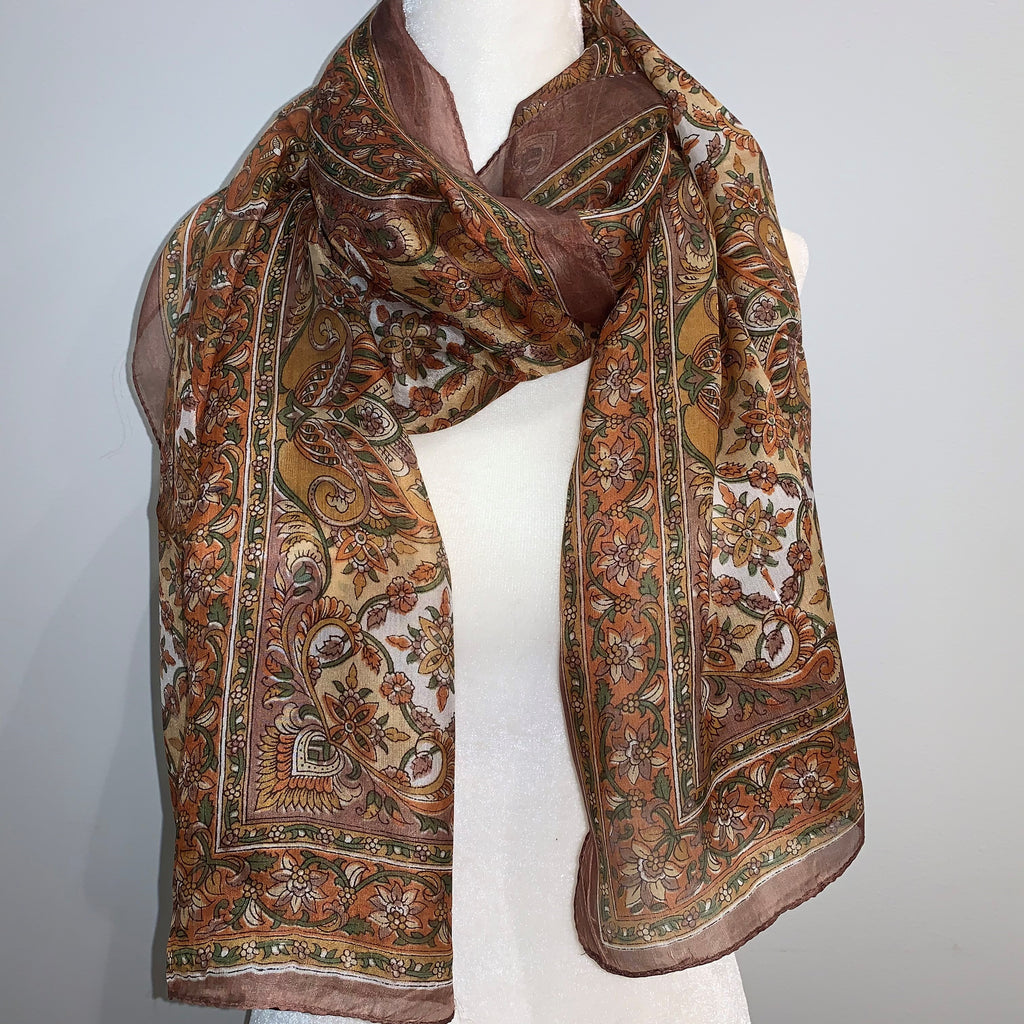 Reed Silk Scarf