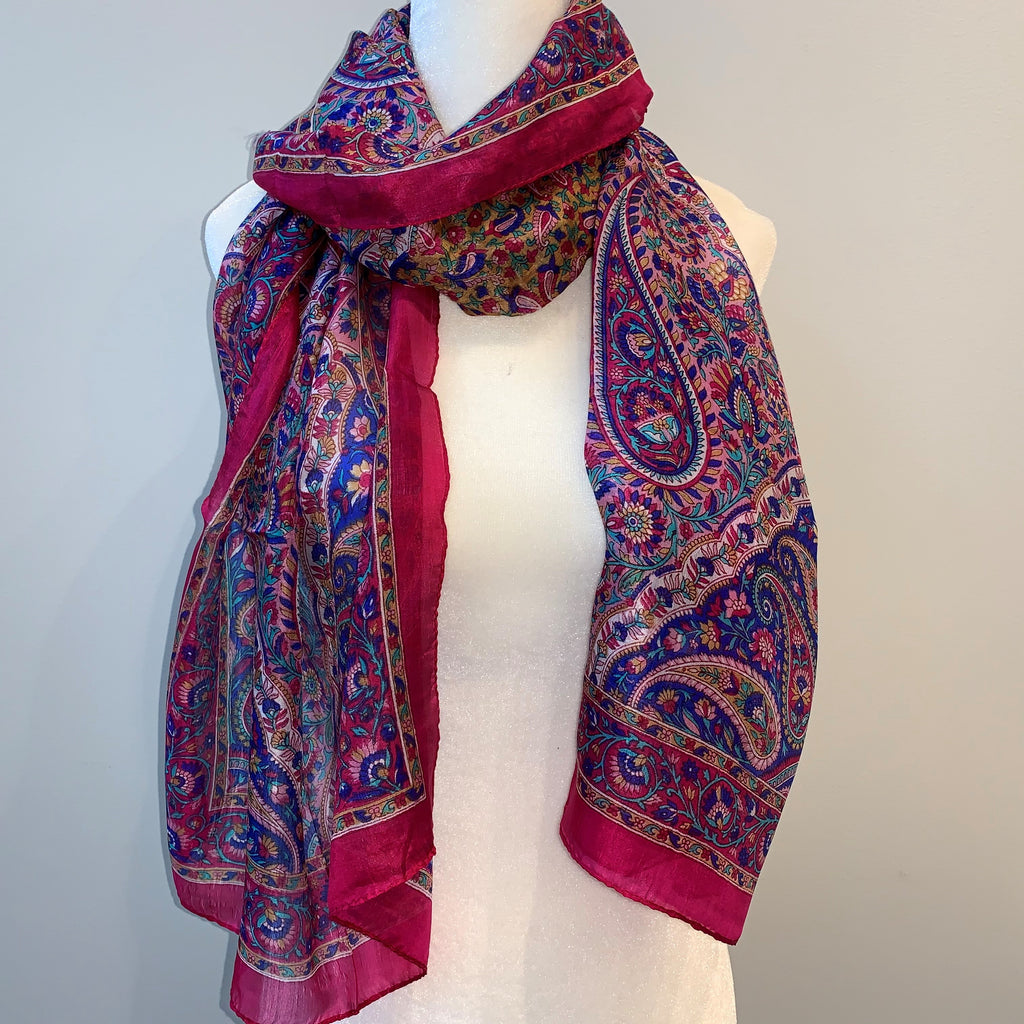 Sawyer Silk Scarf