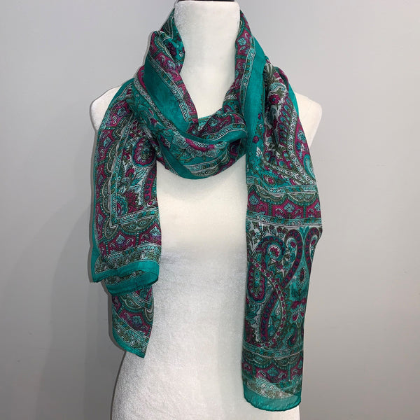 Shelley Silk Scarf
