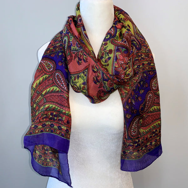 Spencer Silk Scarf