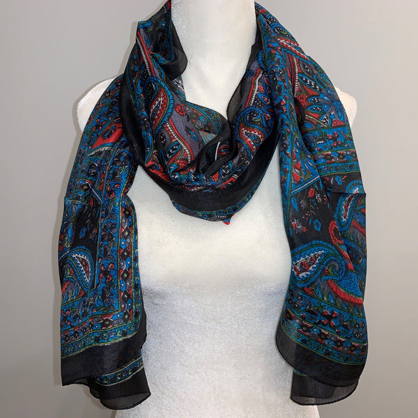 Bridget Silk Scarf