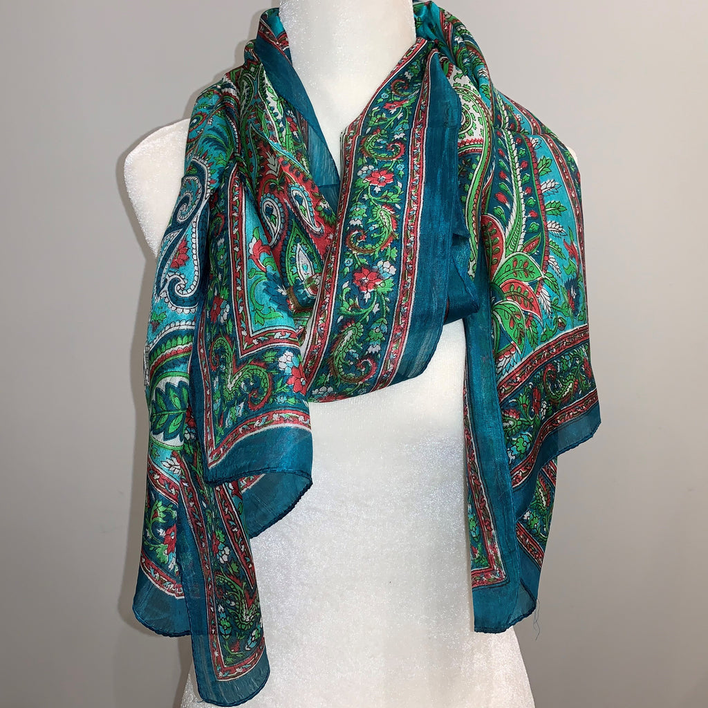 Corrine Silk Scarf