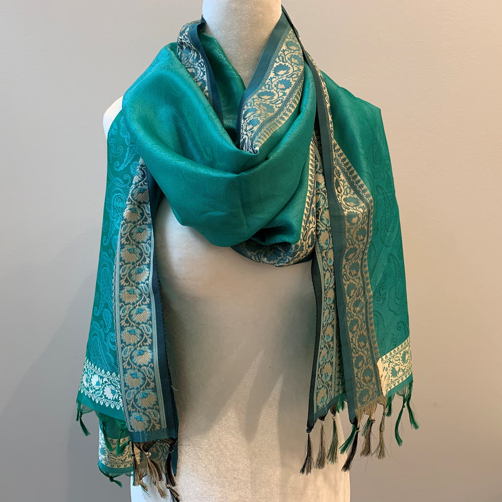 Indore Silk Scarf