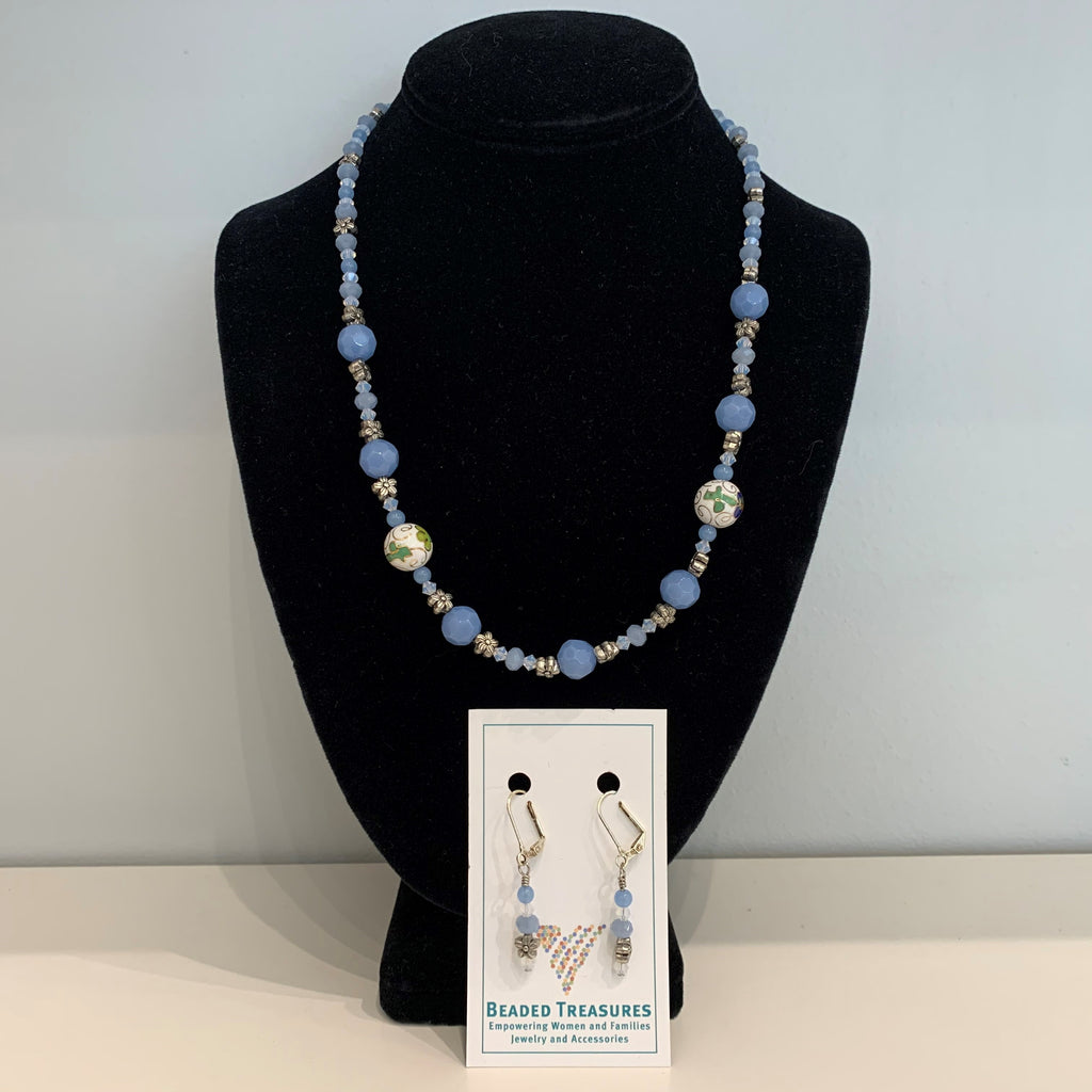 Elaine - Necklace & Earring Set