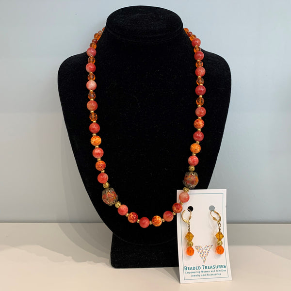 Janis - Necklace & Earring Set