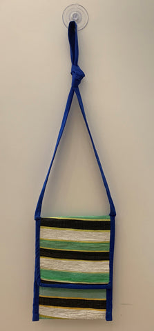 Black, Blue, Green, White & Yellow Tote Bag