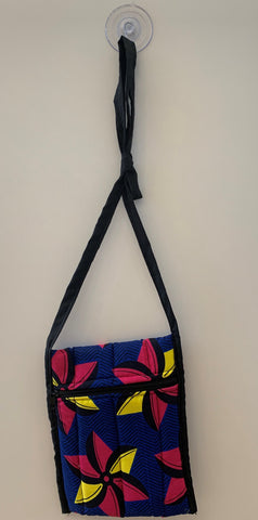 Black, Blue, Pink & Yellow Tote Bag