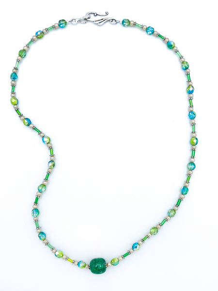 Green and Blue Necklace