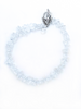 White crystal bead bracelet