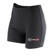 Kwaleö Black Soft Booty Shorts