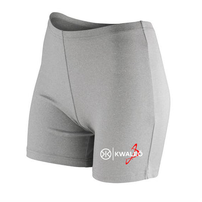 Kwaleö Grey Soft Booty Shorts