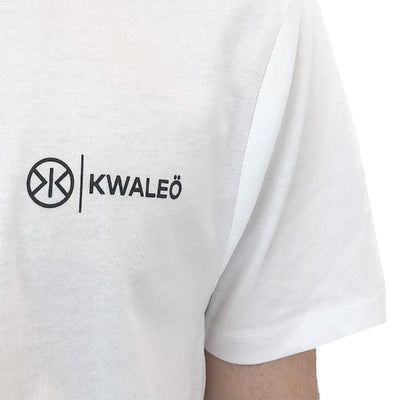 KWALEÖ SLOGAN WHITE  T-SHIRT
