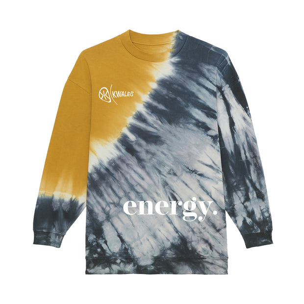 UNISEX TIE AND DYE ENERGY SWEATSHIRT
