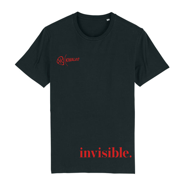 Kwaleö Invisible Black T-Shirt