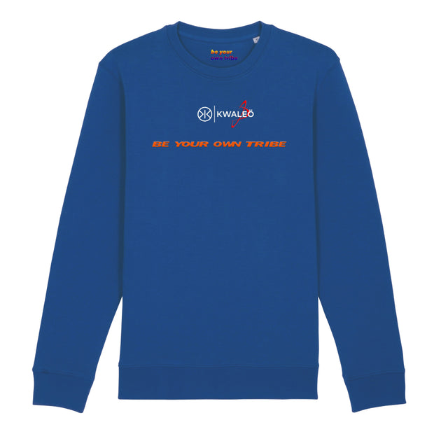 Kwaleö Brushed Blue Sweater