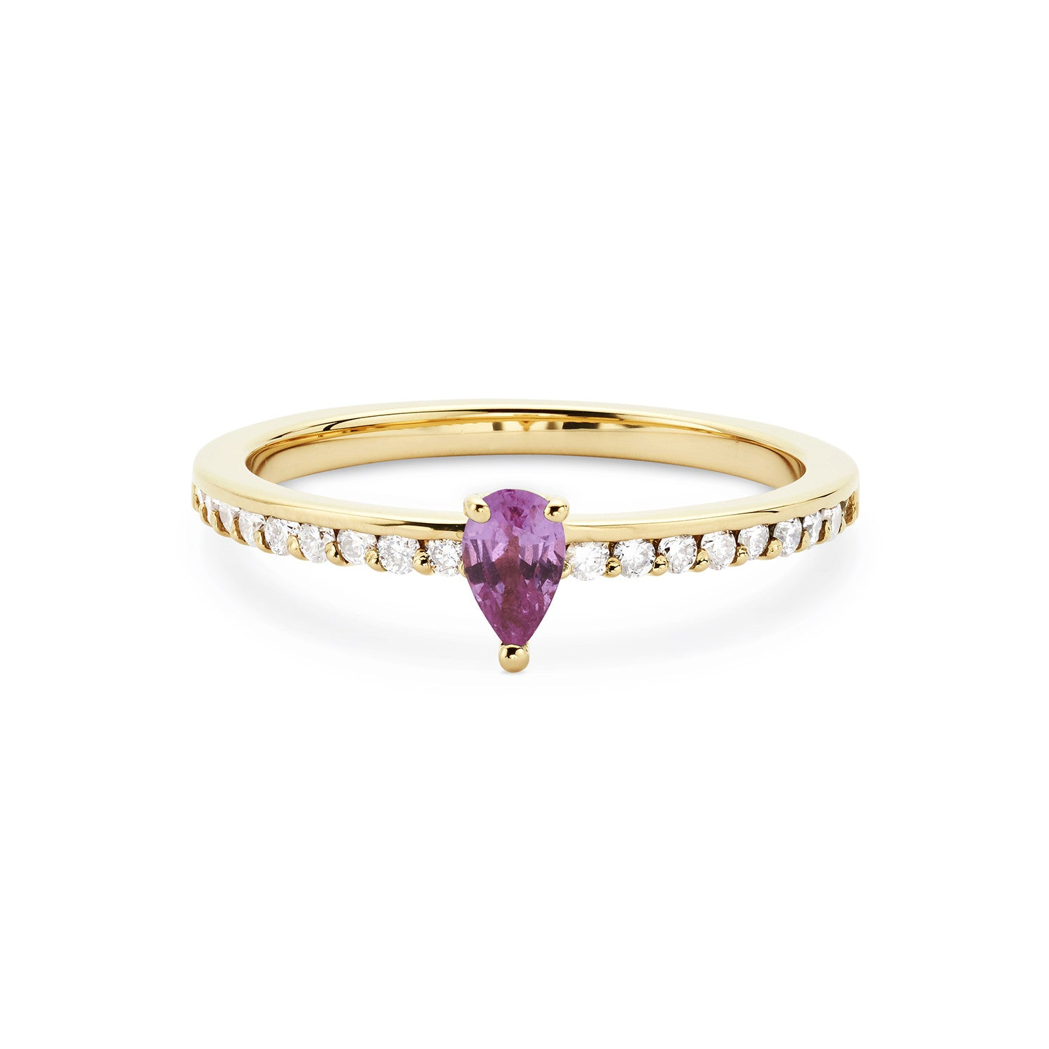 ring white pink with in created rings gold diamonds sapphire
