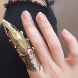 Punk Knight Gothic Finger Ring