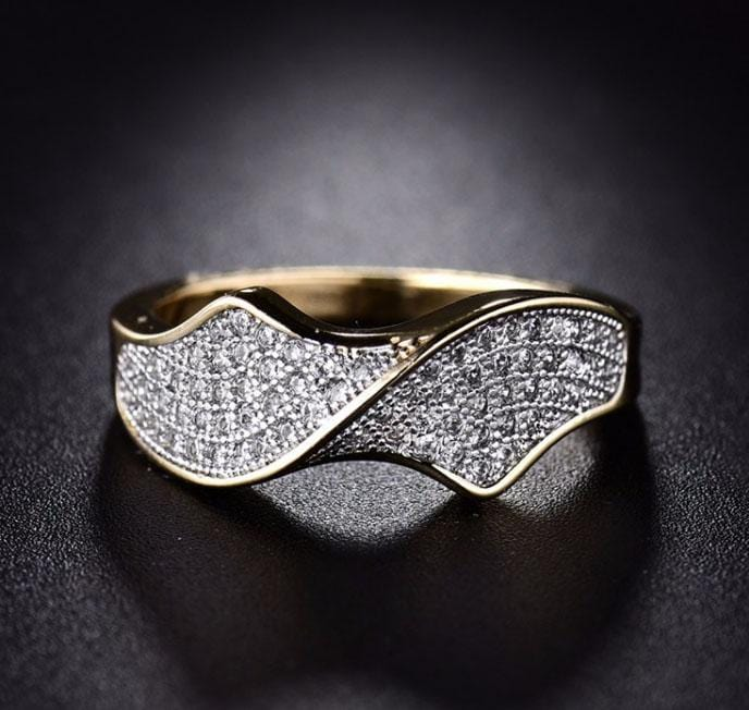 Infinity Love Crystal Ring