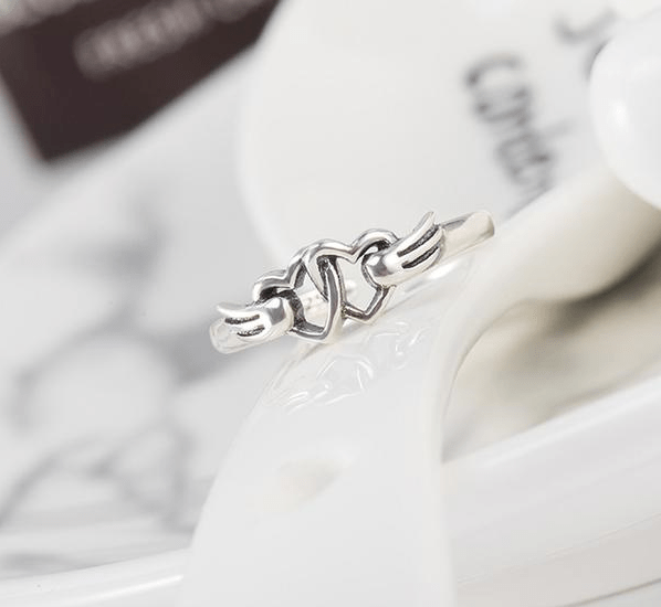 Hearts Link Cute Ring