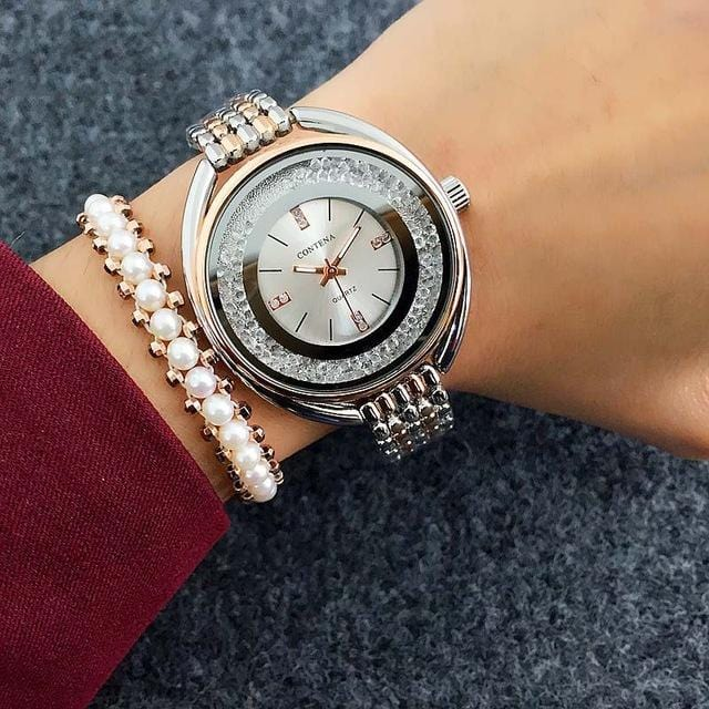 Cute Rhinestones Unique Cute Watch