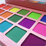 18 Colors Palette Matte Colorful Eyeshadow