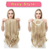 Natural Hair Extension Straight Hairpieces