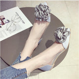 Flower Sweet Flat Heel Loafers Shoes